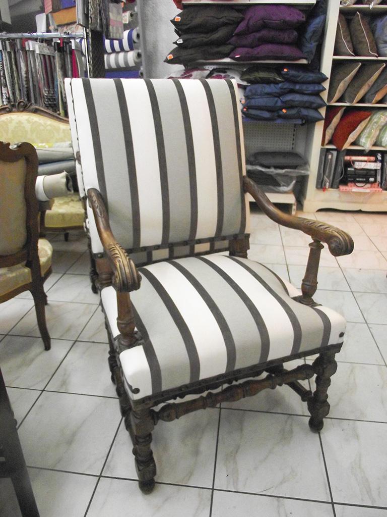 l deco nice 06 fauteuil louis xiii n 2. Black Bedroom Furniture Sets. Home Design Ideas