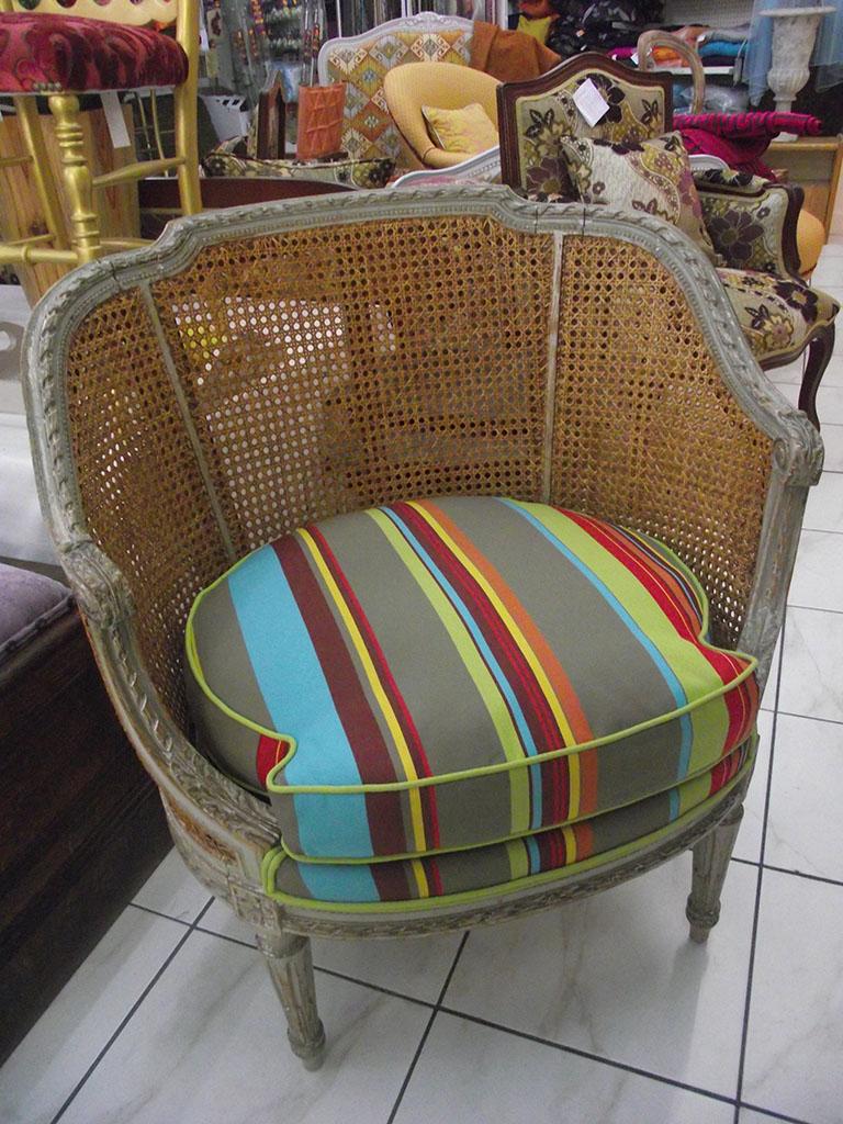 l deco nice 06 fauteuil tonneau n 4. Black Bedroom Furniture Sets. Home Design Ideas
