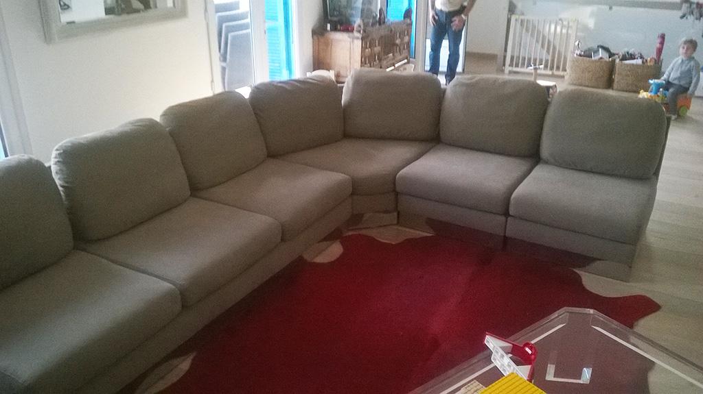 L deco nice 06 tapisserie meubles for Fabrication d un canape